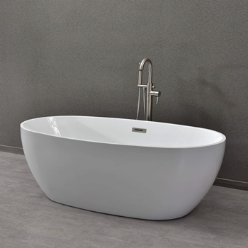 "WOODBRIDGE BTA1518 59"" Acrylic Bathtub"