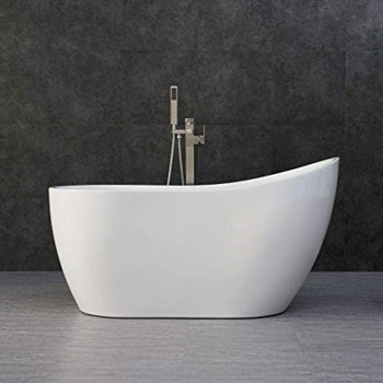 "WOODBRIDGE White 54"" Acrylic Bathtub"