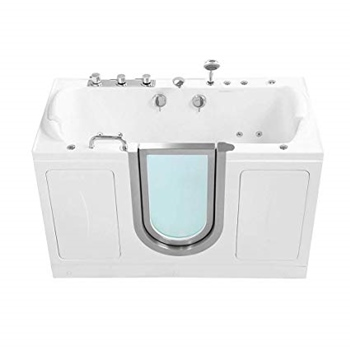 "Ellas Bubbles 60"" x 30"" Walk-In Tub"