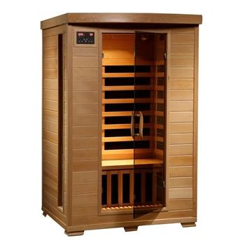 Radiant Saunas 2-Person Hemlock Infrared Sauna