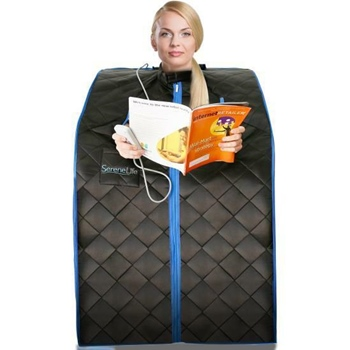 SereneLife Portable Infrared One Person Sauna