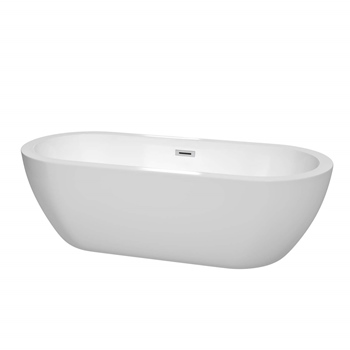 Wyndham Collection Soho 72-inch Freestanding Bathtub