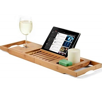 Bambüsi Bamboo Bathtub Caddy Tray