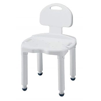 Carex Bath Seat and Shower Chair With Back
