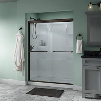 Delta Shower Doors SD3172277 Trinsic Semi-Frameless Sliding Shower Door