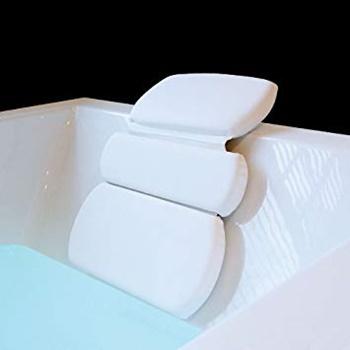 Gorilla Grip Luxury 3-Panel Design Bath Pillow