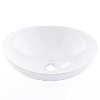 KINGO HOME Above Counter Porcelain Ceramic Bathroom Vessel Sink