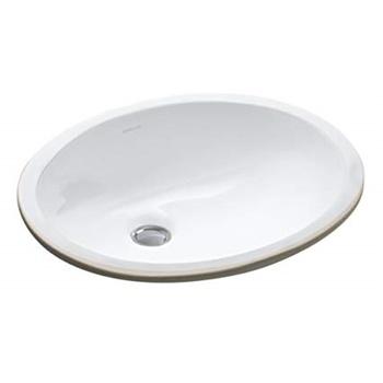 Kohler K-2209-0 Ceramic Undermount Oval Bathroom Sink
