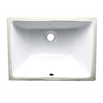 Nantucket Sinks UM - 16 x11 Inch Ceramic Undermount Vanity