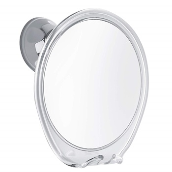 ProBeautify Fogless Shower Mirror with Razor Hook