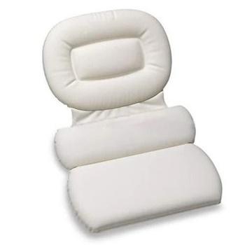 Stock Your Home Luxury Spa Bath Pillow 3–Panel Bathtub Cushion