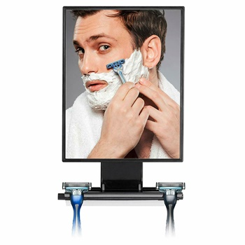 ToiletTree Products Deluxe Larger Fogless Shower Shaving Mirror