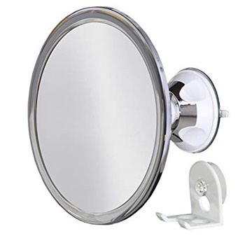 Upper West Collection No Fog Shower Mirror with Rotating